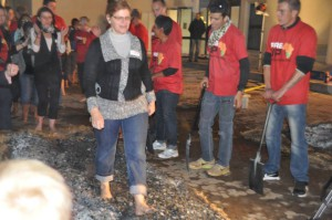 Olga Firewalking