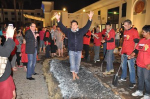 Warren Ho Firewalking